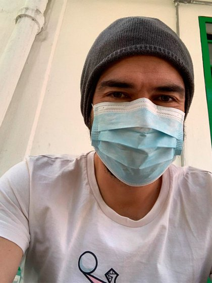El actor reconocido por su incursión en la banda RBD indicó en su cuenta de Instagram que se sometió a una prueba de coronavirus (Foto: Instagram)
