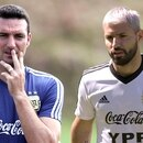 Hubo un cortocircuito entre Lionel Scaloni y Sergio Agüero