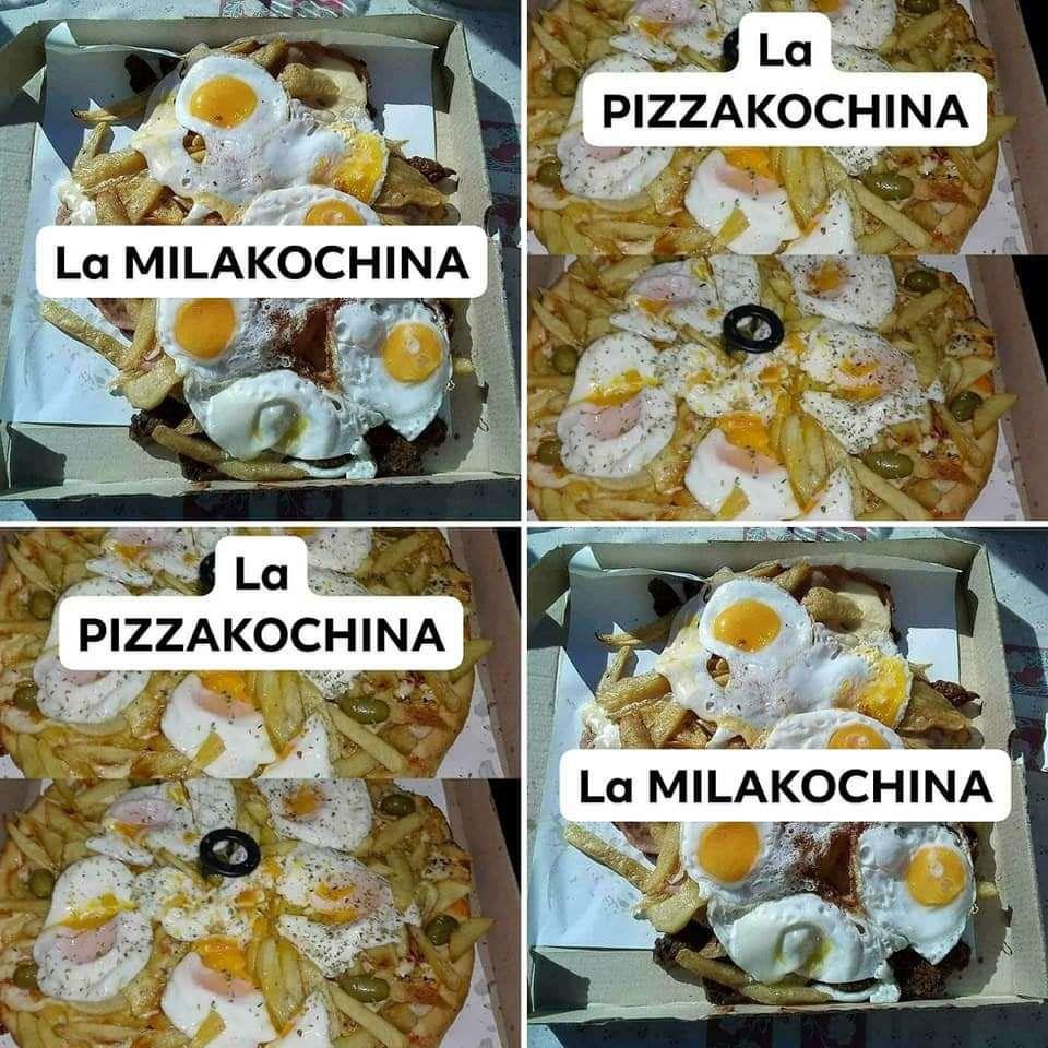 """Pizzakochina"" y ""Milakochina"": las creaciones de Glennon."