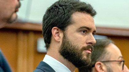 En la imagen, el actor mexicano Pablo Lyle ante un tribunal de Miami, Florida. EFE/Giorgio Viera/Archivo