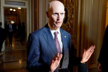 Rick Scott, senador republicano y ex gobernador de Florida (REUTERS/Joshua Roberts)