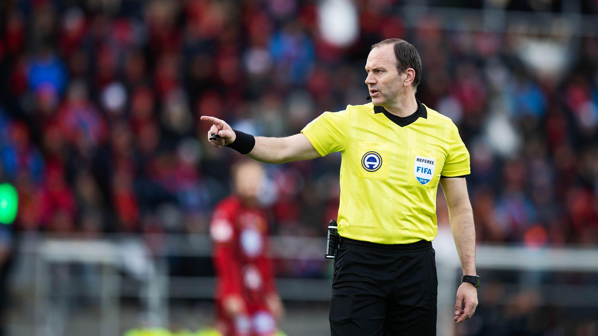 ex árbitro Jonas Eriksson