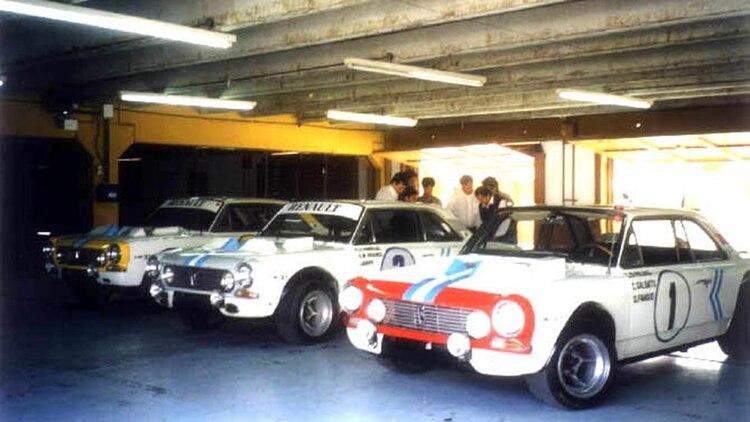 Los tres Torino que viajaron a Alemania para participar de las 84 horas de Nürburgring
