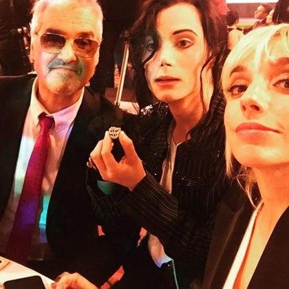 Roberto, Felipe y Tamara Pettinato (Instagram)
