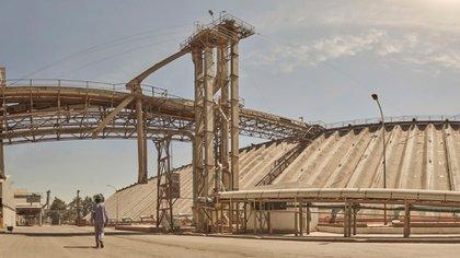 La planta de la empresa en Santa Fe