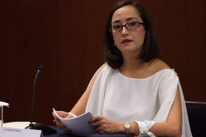 Tania de la Paz Pérez-Farca era la titular de la Subsecretaría de Responsabilidades Administrativas y Contrataciones Públicas Foto: Cuartoscuro