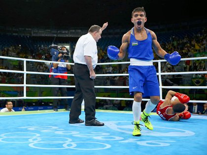 Varios boxeadores denunciaron que había sido robados tras quedar eliminados (Reuters)