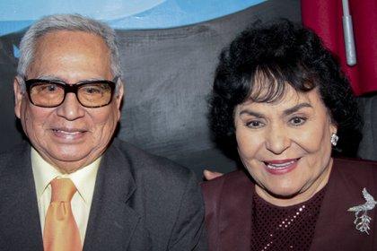 Ernesto Gómez Cruz y Carmen Salinas (Foto: cuartoscuro.com)