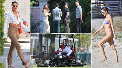 Justin Bieber filma su nuevo videoclip en Miami, Gisele Bündchen y Tom Brady remodelan su mansión valuada en 17 millones de dólares: celebrities en un click
