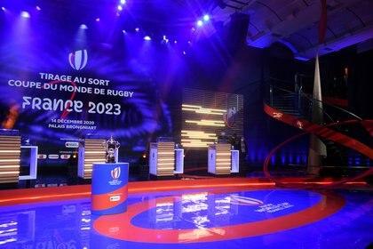 El sorteo del Mundial de rugby se hizo en París (REUTERS)