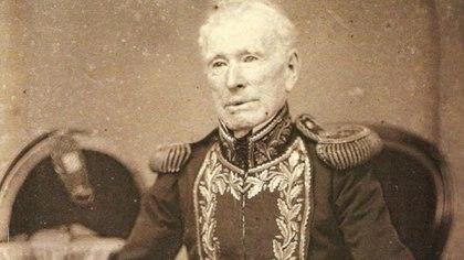El almirante Guillermo Brown