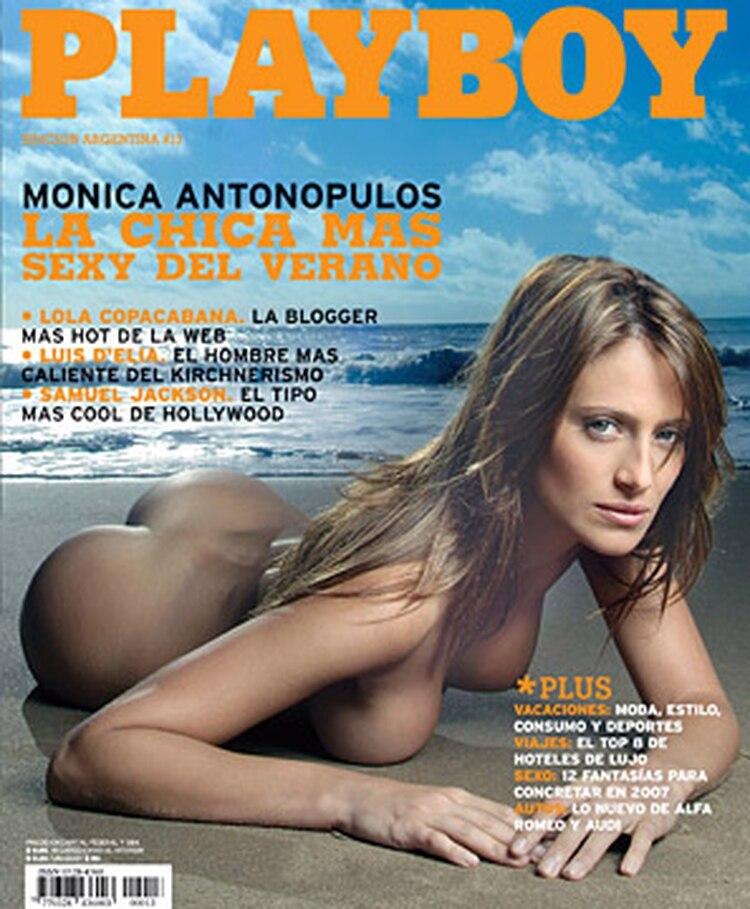 mónica antonópulos, primera conejita 2007 - infobae