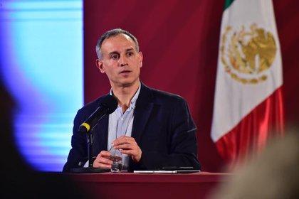 López-Gatel aseguró que México va conforme a lo esperado respecto a la crisis epidémica (Foto: Cortesía Presidencia)