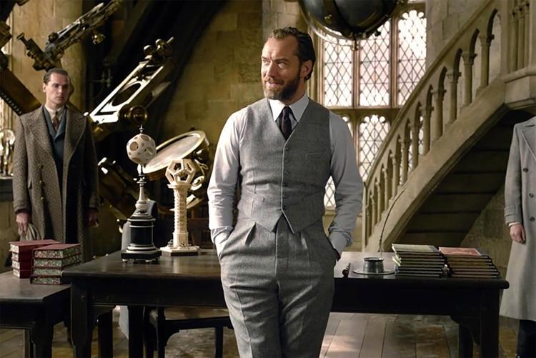 Jude Law confirmó su participación en la película que tentativamente se estrenará en diciembre de 2021 (Foto: Archivo)