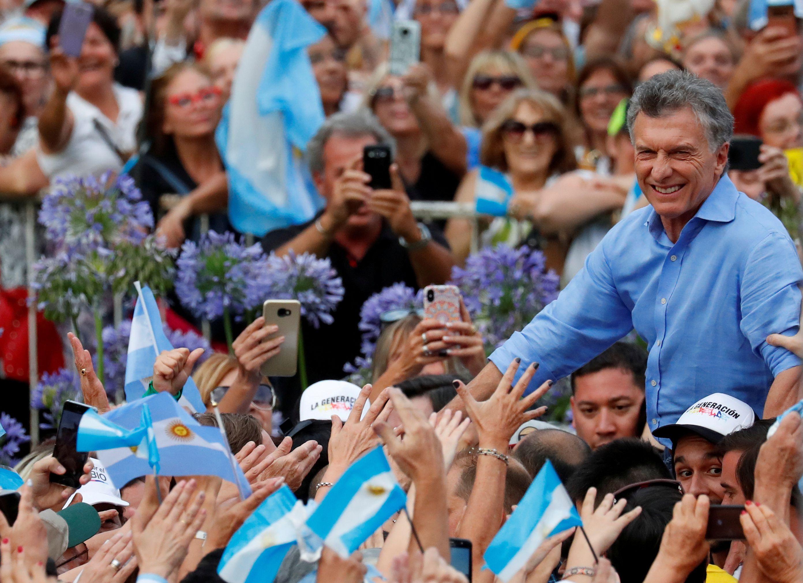 El presidente Mauricio Macri en sus últimos días al frente de la Casa Rosada (REUTERS/Agustin Marcarian)