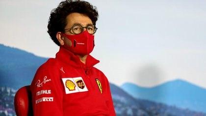 En medio de los malos resultados, el director de Ferrari en la Fórmula 1 Mattia Binotto analizó el presente