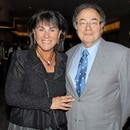 Honey and Barry Sherman, Chairman and CEO of Apotex Inc., are shown at the annual United Jewish Appeal (UJA) fundraiser in Toronto, Ontario, Canada, August 24, 2010. Picture taken August 24, 2010. The Globe and Mail/Janice Pinto/via REUTERS ATTENTION EDITORS - THIS IMAGE HAS BEEN SUPPLIED BY A THIRD PARTY. MANDATORY CREDIT. CANADA OUT. NO COMMERCIAL OR EDITORIAL SALES IN CANADA. NO RESALES. NO ARCHIVE.