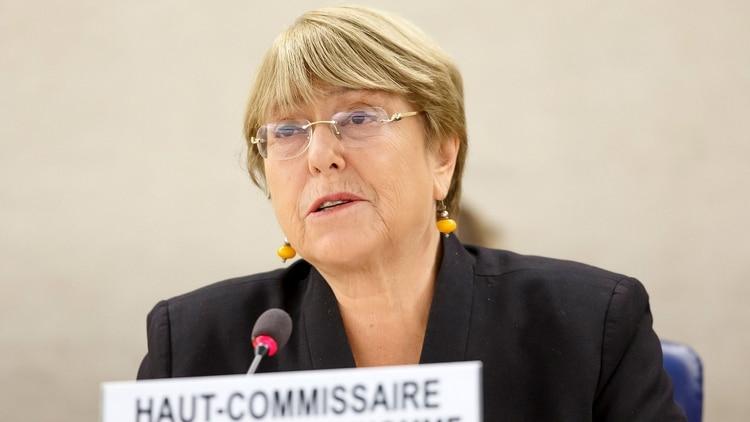 Michelle Bachelet, alta comisionada para los derechos humanos de la ONU