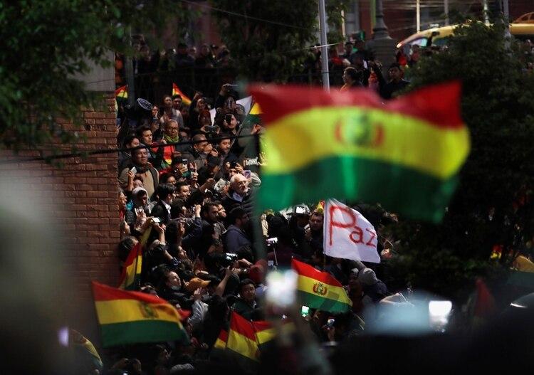 La Conferencia Episcopal de Bolivia pidió que haya un clima de paz en el país (REUTERS/Ueslei Marcelino)