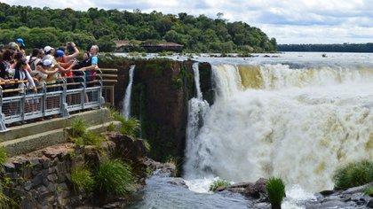 El acceso al Parque Nacional Iguazú estará restringido (Télam)
