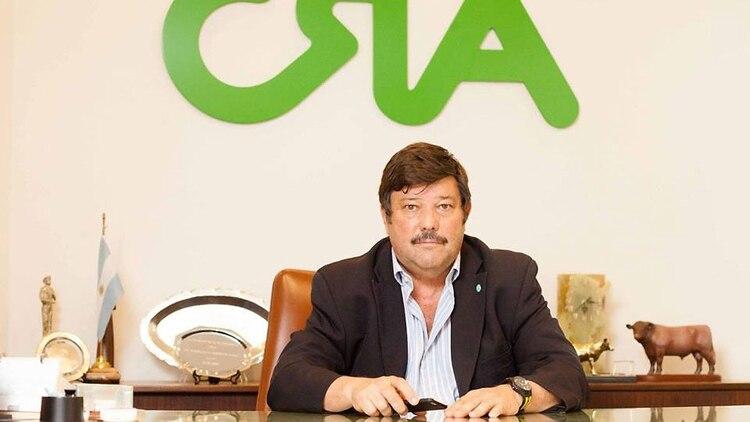 Dardo Chiesa, titular de Confederaciones Rurales Argentinas (CRA)