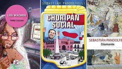 """""""Los wachos"""", de Walter Lezcano, """"Choripán social"""" y """"Diamante"""", de Sebastián Pandolfelli"""