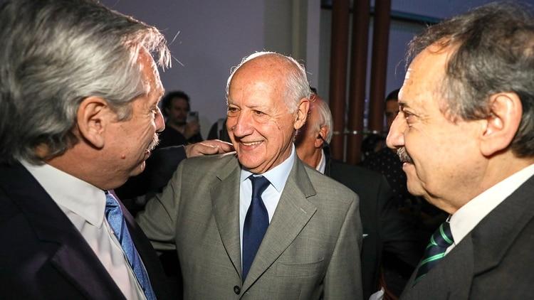 Fernández y Roberto Lavagna. El ex ministro suele asesorar al Presidente