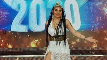 """Rocío Quiroz en el """"Cantando 2020"""" (Foto: Instagram)"""