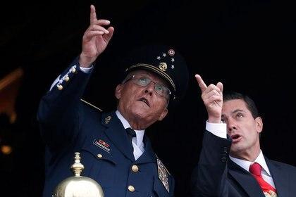 El general en retiro fue el encargado de la defensa nacional con Peña Nieto (Foto: Reuters / Gustavo Graf)
