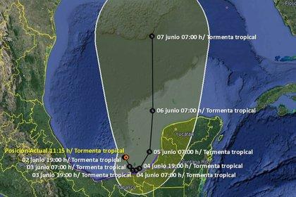 (Foto: Servicio Meteorológico Nacional/Conagua)