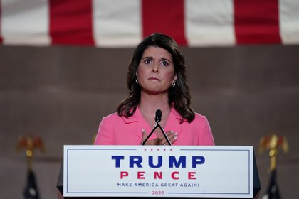 Nikki Haley (REUTERS)