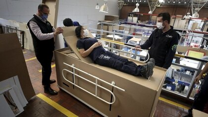 La cama-ataúd es desarrollada por la empresa bogotana ABC Dysplays.