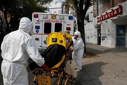 La CDMX, sede del Senado, se encuentra en semáforo rojo y pasa por el peor momento de la pandemia hasta ahora (Foto: Carlos Jasso/ Reuters)