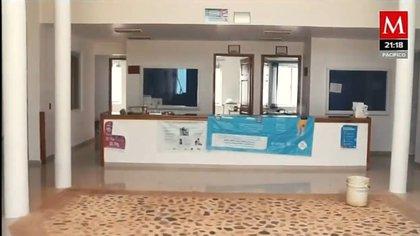 Interior del hospital donde El Mencho atiende su salud. (Foto: Captura de pantalla/Milenio)