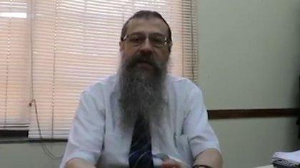 El rabino Shlomo Tawil fue atacadopor tres personas en el centro de la ciudad de Rosario