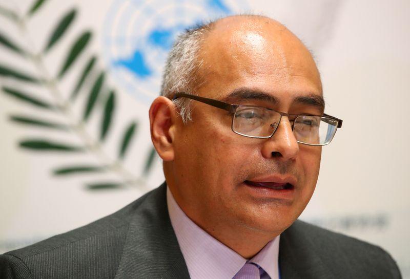 FOTO DE ARCHIVO-El ministro de Salud de Venezuela, Carlos Alvarado (REUTERS/Denis Balibouse)