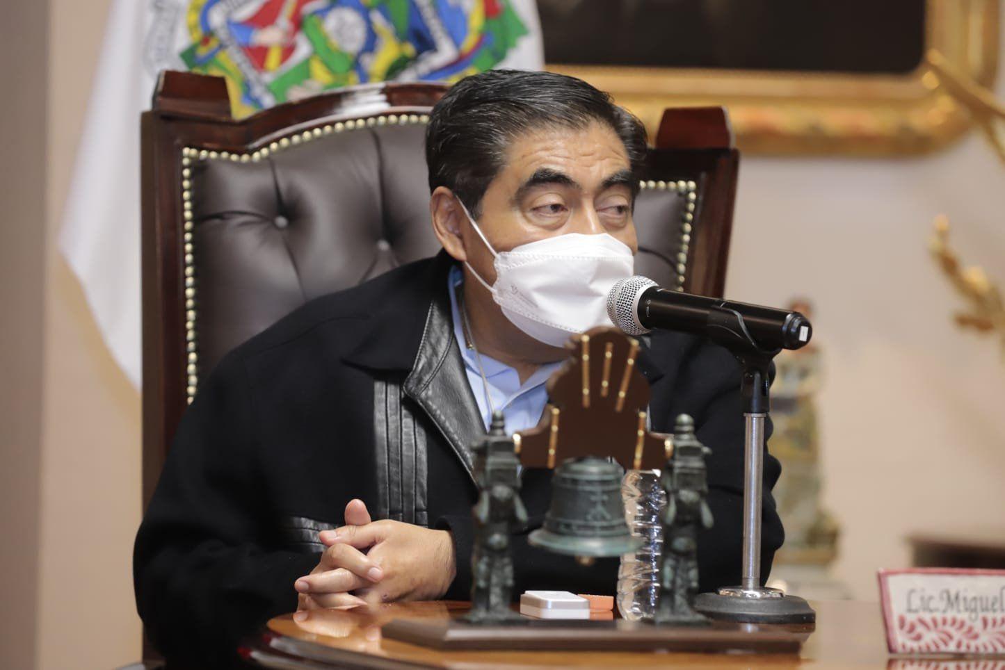 Barbosa Huerta recordó que la Fiscalía General del Estado (FGE) detuvo a nueve personas que podrían resultar responsables por el siniestro (Foto: Twitter/@MBarbosaMX)