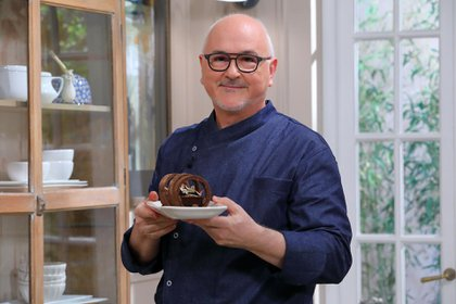 """""""La pastelería surgió cuando yo tenía 28 o 29 años, fue como una apuesta a una pasión que se había creado poco tiempo antes"""", aseguró Osvaldo Gross"""