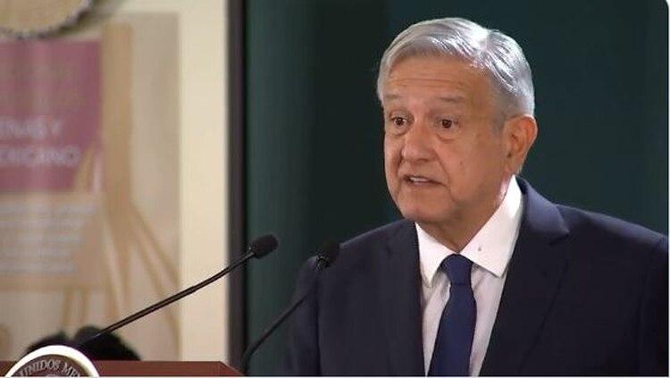 López Obrador lamentó en su conferencia mañanera este acto cometido por el crimen organizado en el país (Foto: captura de pantalla)