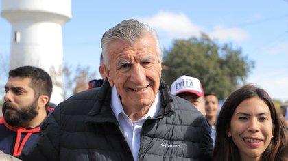El diputado nacional José Luis Gioja, presidente del PJ nacional
