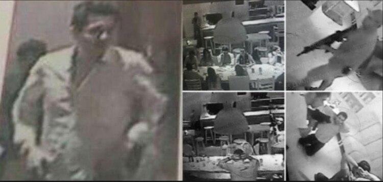 Imágenes del secuestro de los hijos de