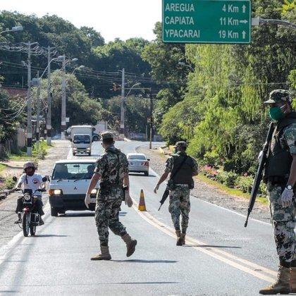 Militares en Paraguay (foto: Ministerio de Defensa)
