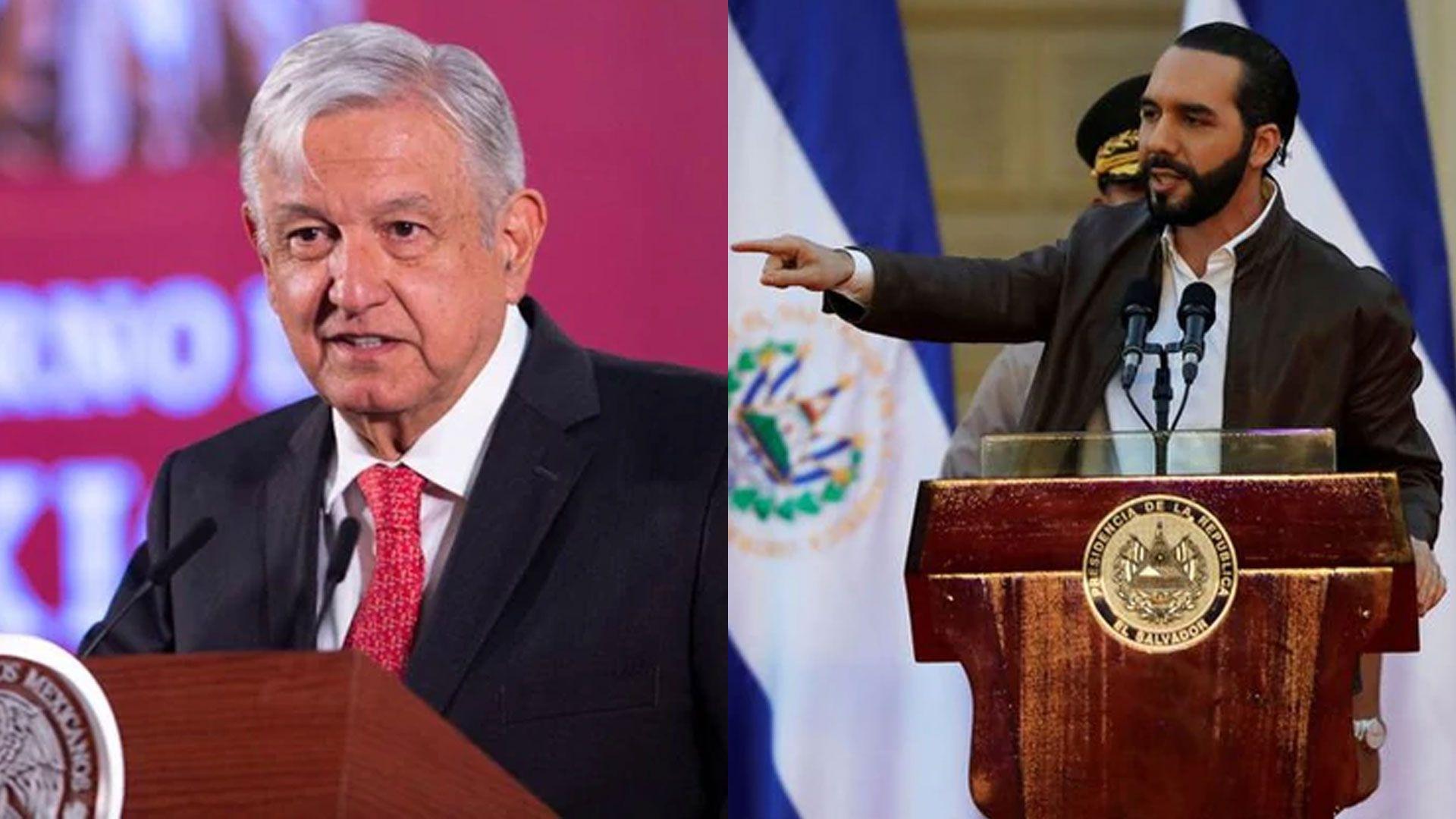 Nayib bukele habla de las medidas adoptadas por México ante COVID-19 (Foto: Especial)