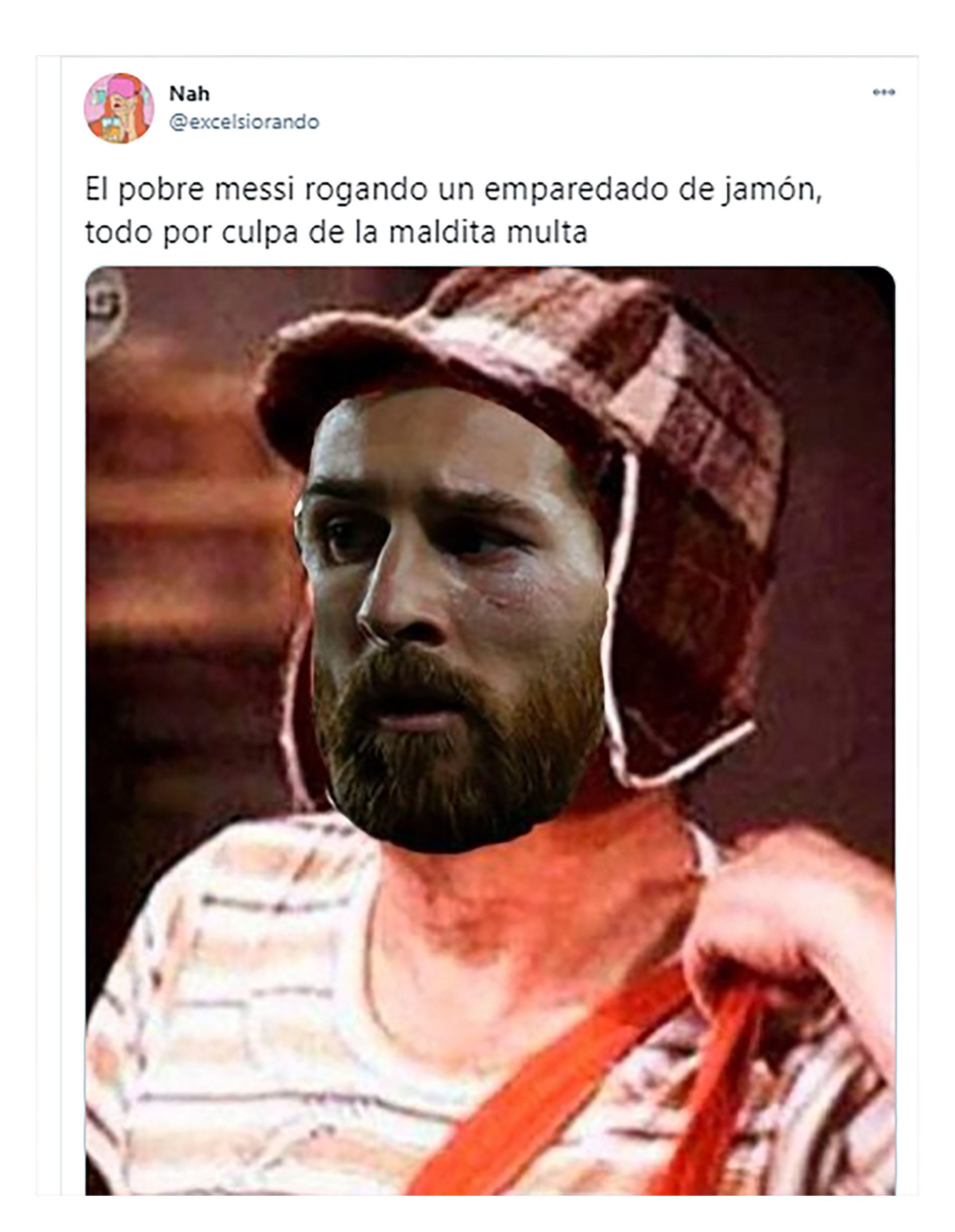 memes por la multa que deberá pagar Messi tras su homenaje a Maradona