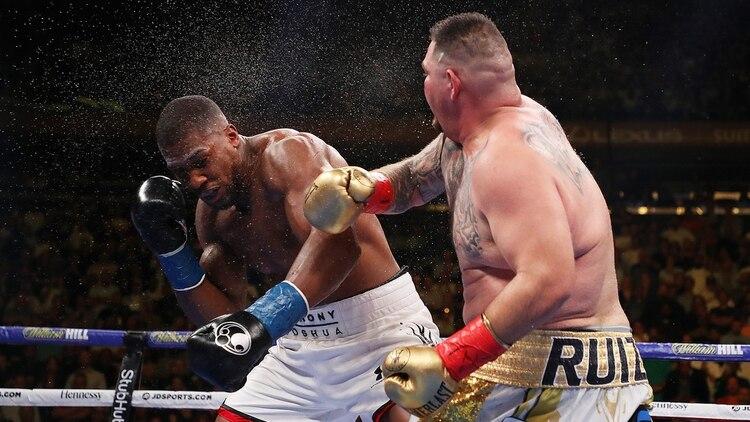 El dispositivo transmitirá en vivo los daños que sufra el boxeador (AFP)