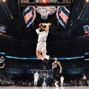 CHARLOTTE, NC - FEBRUARY 17: Blake Griffin #23 of Team Giannis dunks the ball against Team LeBron during the 2019 NBA All-Star Game on February 17, 2019 at the Spectrum Center in Charlotte, North Carolina. NOTE TO USER: User expressly acknowledges and agrees that, by downloading and/or using this photograph, user is consenting to the terms and conditions of the Getty Images License Agreement. Mandatory Copyright Notice: Copyright 2019 NBAE Andrew D. Bernstein/NBAE via Getty Images/AFP