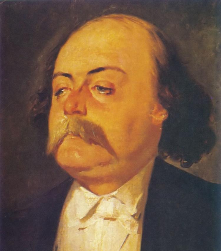 Gustave Flaubert, retratado en 1856 por Eugène Giraud