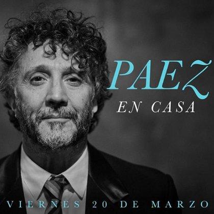 El anuncio de Fito Páez