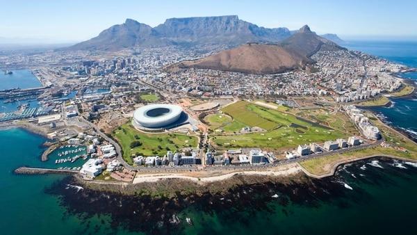 Vista aérea de Ciudad del Cabo (iStock)