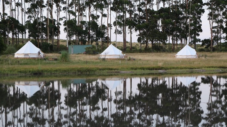 Las carpas del Glamping en José Ignacio (GM Press)
